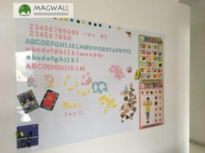 廠家定制magwall辦公教學多用簡易拆裝磁性軟白板
