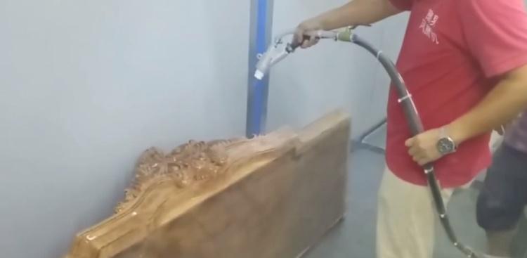 木材喷砂机的用途