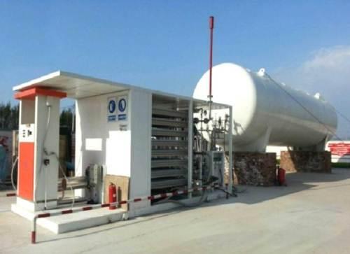 出易购彩平台 撬装式LNG加气站