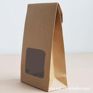 牛皮纸盒曲奇盒 牛皮纸袋 食品包装盒 特产包装袋茶叶