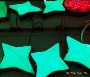 四角星星灯盒 led轮廓灯