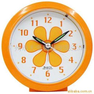 金天帝【圆形】可爱闹钟,钟表