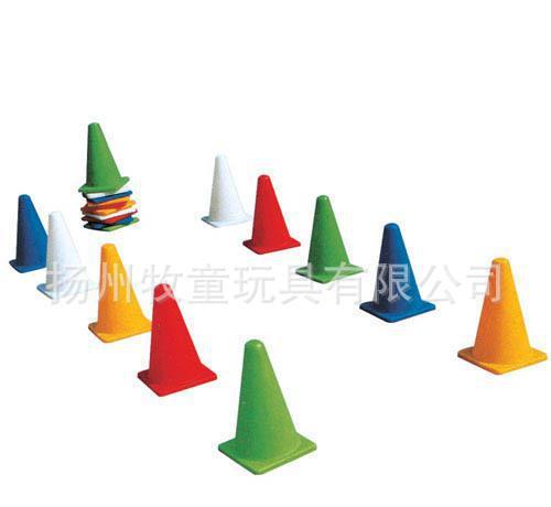 幼儿园户外体育玩具用品 儿童户外活动玩具器材器械 彩色路标
