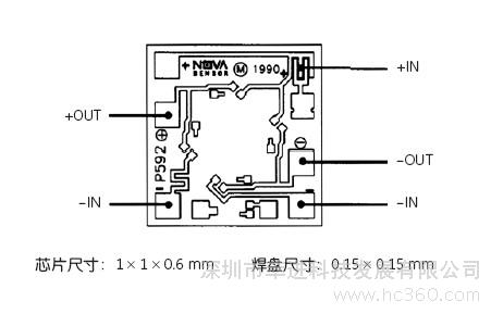 ge p592硅压力传感器芯片