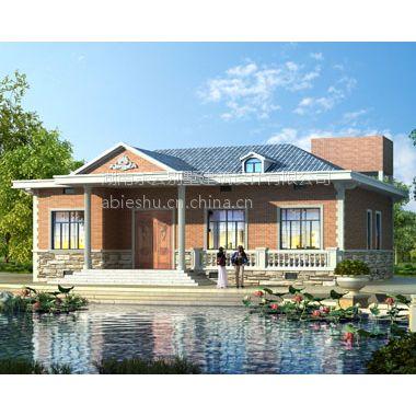 永云別墅at225一層套房式別墅建筑設計施工圖紙15.6mx