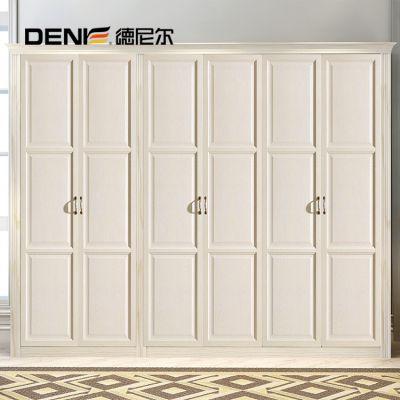 德尼尔衣柜门定制 包覆衣柜柜门定做 欧式平开门图片