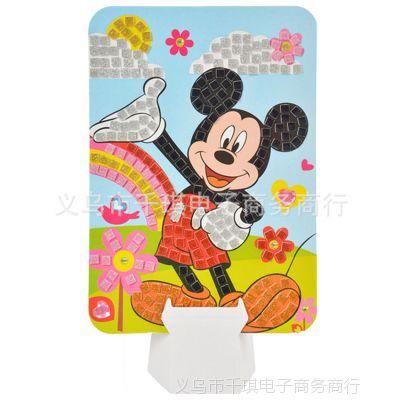米老鼠益智玩具厂家直销 diy手工制作贴纸贴画出口品质 安全环保