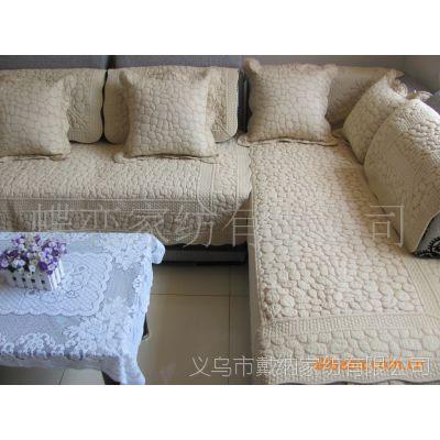 2014夏季新款沙發墊坐墊 田園風格沙發墊 防滑布藝沙發墊坐墊批發