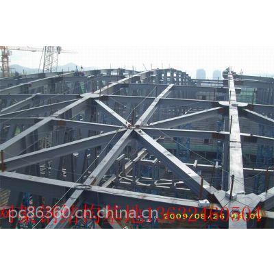 深圳重型钢结构框架管桁架加工|广州钢结构工业厂房报价
