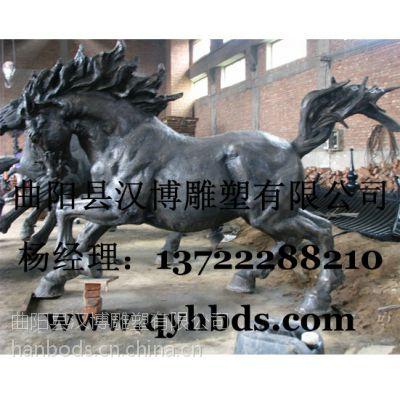 马雕塑,动物雕塑制作厂家,玻璃钢树脂雕塑