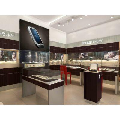 深圳展柜厂|手表展示柜设计效果图