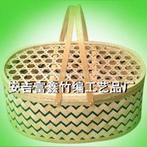 简易编竹篮步骤和图片