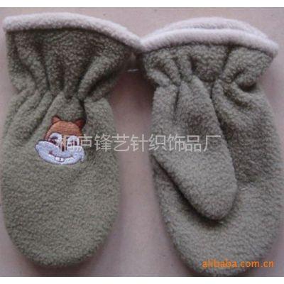 供应儿童冬季保暖可爱绣花卡通手套 小孩保暖包套