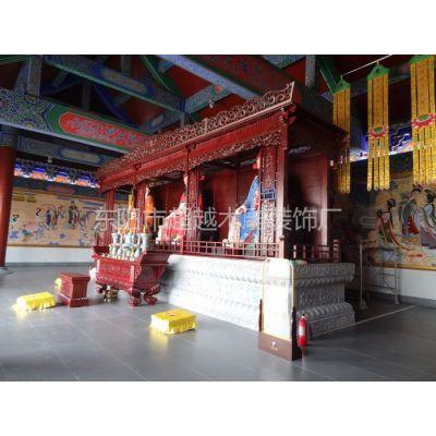 佛龛 纯手工雕刻工艺 寺庙道观配置 东阳木雕出品
